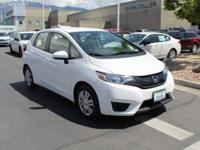 CARFAX One-Owner. Clean CARFAX. White 2016 Honda Fit LX