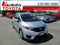 BLUETOOTH, BACKUP CAMERA!  This 2016 Honda Fit LX comes