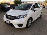Options:  2016 Honda Fit Lx|White Orchid