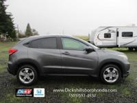 The all-new HR-V! Perfect size for life's everyday