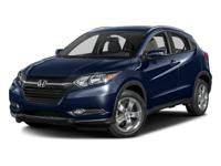 One Owner Clean Carfax. HR-V EX-L w/Navigation, AWD,