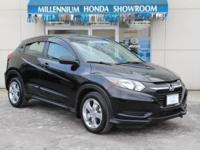 This Honda Certified HR-V AWD 4dr CVT LX  is a New