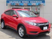 This Honda Certified HR-V AWD 4dr CVT LX is Priced