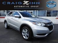 New Arrival! LOW MILES, This 2016 Honda Hr-V LX will