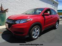 Come see this 2016 Honda HR-V LX. Its Variable