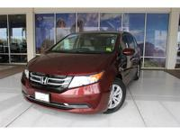 HONDA CERTIFIED WARRANTY APPLIES!, Odyssey EX-L. CARFAX