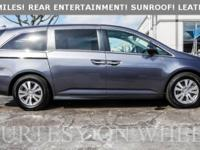 2016 Honda Odyssey EX-L!! REAR ENTERTAINMENT!!