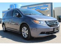 Recent Arrival! This 2016 Honda Odyssey EX-L in Gray