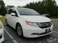 Recent Arrival! This 2016 Honda Odyssey EX-L in White