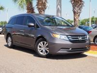 New Price! This 2016 Honda Odyssey EX-L in Smoky Topaz