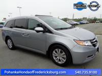 This 2016 Odyssey is a one owner vehicle with a clean