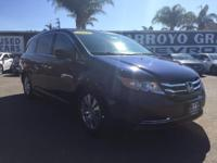 Options:  2016 Honda Odyssey 5Dr Ex-L Used|Blue 6-Speed