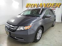 Check out this 2016 Honda Odyssey EX-L. Its Automatic