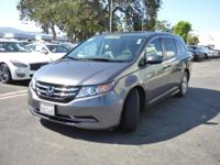 Options:  2016 Honda Odyssey 5Dr Ex-L|Roof - Power