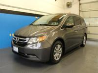 CARFAX One-Owner. Clean CARFAX. Gray 2016 Honda Odyssey