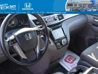 Honda CERTIFIED* It's ready for anything!!!! Come and