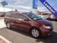 CARFAX One-Owner. Honda Certified. Deep Scarlet Pearl