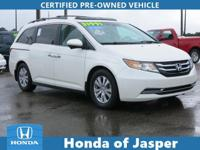 Options:  2016 Honda Odyssey 5Dr Ex-L W/Res|Certified