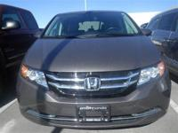 Recent Arrival! *HONDA CERTIFIED!*, Odyssey EX-L.