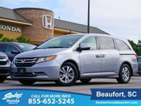 2016 Honda Odyssey in Silver. Gently used. A gas