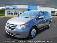 Options:  2016 Honda Odyssey Se|Gray|Carfax One-Owner.