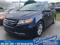 ***Breakaway Honda*** Odyssey SE, Automatic temperature