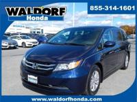 Look at this 2016 Honda Odyssey SE. Its Automatic