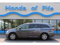 CarFax One Owner! This Honda Odyssey is CERTIFIED! Low