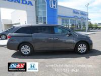 1-OWNER VAN WITH HONDA'S CERTIFIED WARRANTY PROTECTION!