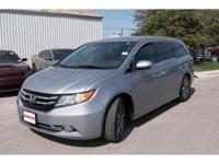 *Purchase this lunar silver metallic 2016 Honda Odyssey