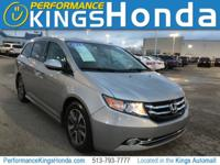New Price! CARFAX One-Owner. 2016 Honda Odyssey Touring