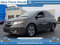 This Honda Odyssey is Certified Preowned! CARFAX