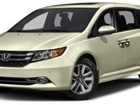 This 2016 Honda Odyssey 4dr 5dr Touring features a 3.5L