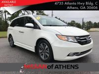 Come see this 2016 Honda Odyssey Touring Elite. Its