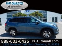 Certified! CARFAX One-Owner. 2016 Honda Pilot EX AWD