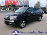 Options:  2016 Honda Pilot Ex-L Awd|Advertised Price