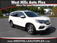 PILOT EX-L 4D SUV AWD  Options:  Blind Spot Display