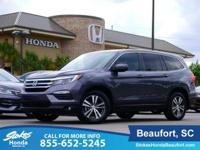 2016 Honda Pilot in Gray. In fine shape. Ultra clean!