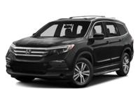 Options:  2016 Honda Pilot Ex-L|Modern Steel