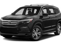 LOW MILEAGE 2016 HONDA PILOT EX-L 2WD**CLEAN CAR