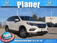 New Price! Recent Arrival! 2016 Honda Pilot EX-L White