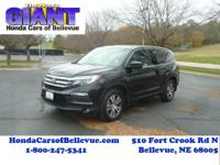 This 2016 Honda Pilot EX-L AWD is proudly offered by