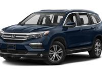 You'll love the look and feel of this 2016 Honda Pilot