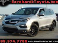 We are delighted to offer you this 2016 Honda Pilot