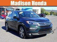 2016 honda pilot CARFAX One-Owner. Clean CARFAX. 2016