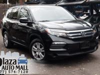 New Price! Certified. 2016 Honda Pilot LX Crystal Black