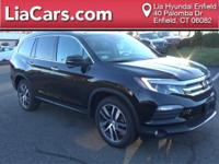2016 Honda Pilot in Black Forest Pearl, 1 Owner!,
