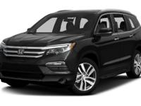 Options:  2016 Honda Pilot Touring|Recent Arrival!