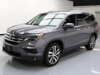 2016 Honda Pilot with 3.5L V6 Engine,8-Passenger