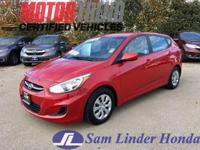 Options:  2016 Hyundai Accent Se|Advertised Price